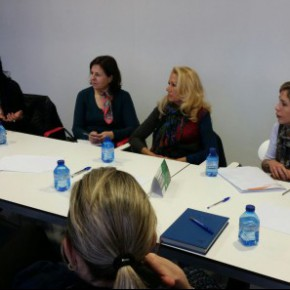 Asociaciones de salud mental exponen sus problemáticas a Marta Martín