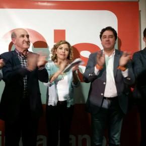 """Marta Martín augura """"el final de la política basura"""" si gana C's en su acto celebrado en el Centro de Congresos de Elche"""