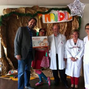 Ciudadanos (C's) en Diputación Alicante dona mil euros a PayaSOSpital