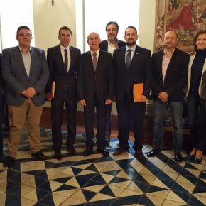 Ciudadanos reúne a sus representantes para apoyar el proyecto de la ZAL en la Vega Baja