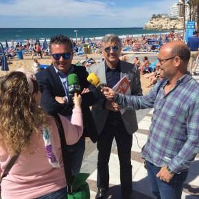 """Gasent: """"Queremos unas playas Premium para Benidorm con servicios pioneros en la Comunidad Valenciana"""""""
