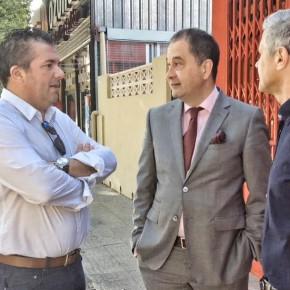 "Gasent: ""Hay que tomar decisiones ya para evitar el caos que provoca la entrada masiva de autobuses a Benidorm"""