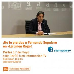 Fernando Sepulcre en La Línea Roja de Información TV
