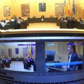 El pleno de Benidorm aprueba la moción de Cs para estudiar la opción de privatizar el Palau d'Esports
