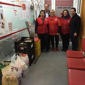 """Víctor Sales: """"Ciudadanos Petrer consigue recoger en menos de diez días 130 kg de comida para Cruz Roja"""""""