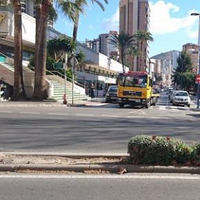 C's pide abrir la mediana de la avenida Europa en su intersección con Gerona para mejorar la circulación