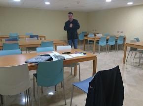 La sala de estudio rehabilitada gracias a la enmienda de Ciudadanos ya está operativa en el biblioteca de Benidorm