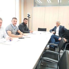 Ciudadanos se reúne con representantes del Colegio de Fisioterapeutas para tratar su presencia en eventos deportivos