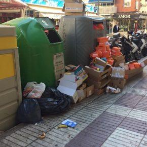 Cs Benidorm pide reorganizar el servicio de limpieza para que se refuerce durante el día en zonas de gran tránsito