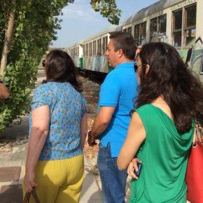 Ciudadanos pide recuperar un vagón del Limón Express para tematizar una rotonda en Benidorm