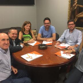 El equipo de organización de la provincia de Alicante se reúne para dar proyección a la implantación de Ciudadanos