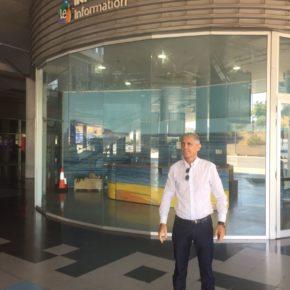 """Balastegui: """"El alcalde no ha sabido dar una explicación al cierre de la oficina de turismo de la estación de autobuses"""""""