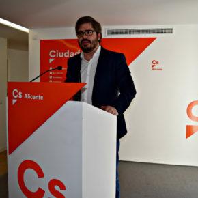 """Fran Hervías: """"Alicante es una de las provincias donde Ciudadanos tiene mayor implantación a nivel nacional"""""""