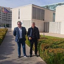 Ciudadanos propone ampliar el salón de actos del ayuntamiento de Benidorm para doblar su aforo y aumentar su escenario