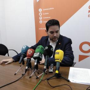 David Caballero recuerda que la iniciativa Elx Emplea que hoy presenta el alcalde es un proyecto de Cs exigido como condición para apoyar los presupuestos