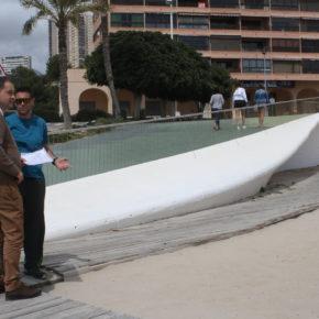 Ciudadanos saca adelante la creación de un complejo de voley playa en Poniente para ser referente nacional de este deporte