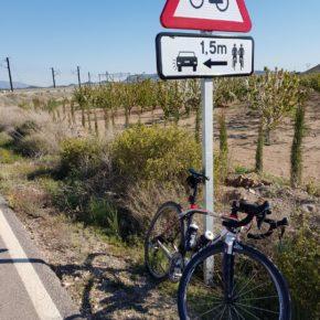 Ciudadanos Petrer pide que el Ayuntamiento tome medidas para incrementar la seguridad de los ciclistas