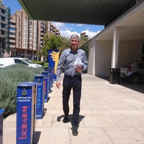 """Balastegui: """"Es ridículo que Benidorm cuente con 70 kilómetros de carril bici y no tenga ni una bicicleta pública en la calle"""""""