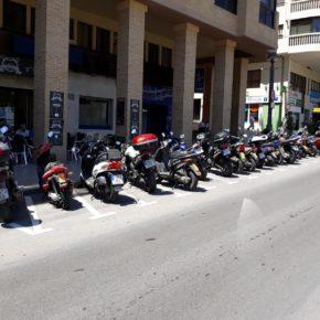 Ciudadanos reclama adecuar más espacio en el centro de Benidorm para aparcamiento de motocicletas y ciclomotores