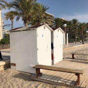 Ciudadanos denuncia que el Ayuntamiento incumple la normativa sobre aseos públicos adaptados en las playas de Alicante