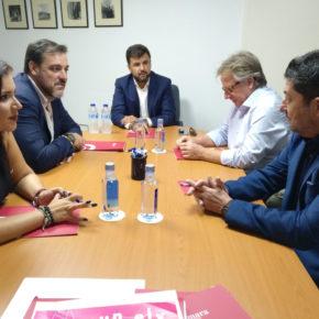 """Sánchez: """"Ciudadanos se toma muy en serio la Vega Baja, al contrario que el Consell, que pasa por aquí de puntillas"""""""