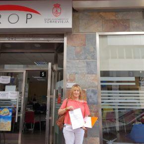 Cs Torrevieja propone la constitución urgente de una mesa de negociación que permita desbloquear el pago de las nóminas a los funcionarios