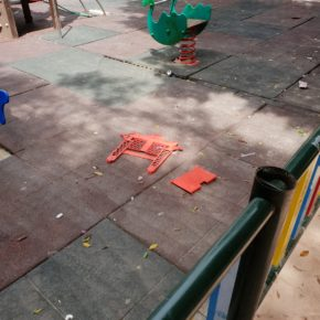 """Ciudadanos de Callosa de Segura denuncia el aumento de la inseguridad en el parque Navarro Aguado """"ante la pasividad del Gobierno"""""""