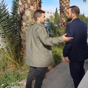 Ciudadanos considera inaceptable el abandono del Parque Alimentario de la Alcudia y reclama más limpieza y mantenimiento